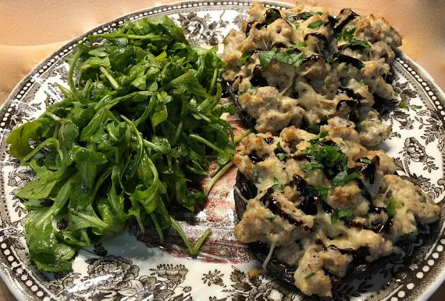 21st Plated Meal Kit Delivery Review,  Stuffed Portobello Mushrooms #plated #mealkit