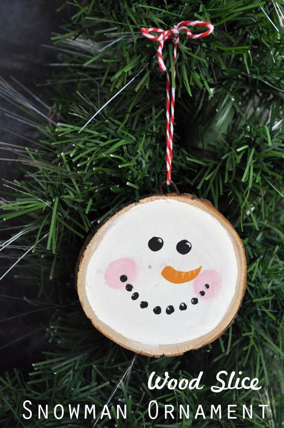 Do You Wanna Build a Snowman (Ornament)- Easy simple ornament that is perfect for groups or family craft time.