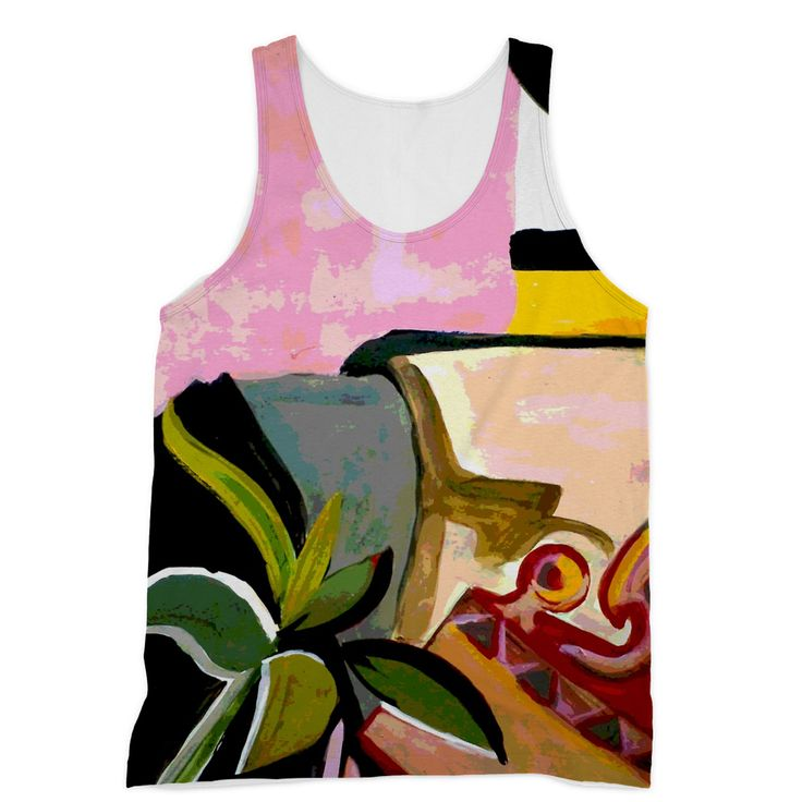 Pink Artsy Vest https://blooom-store.myshopify.com/products/sublimation-vest