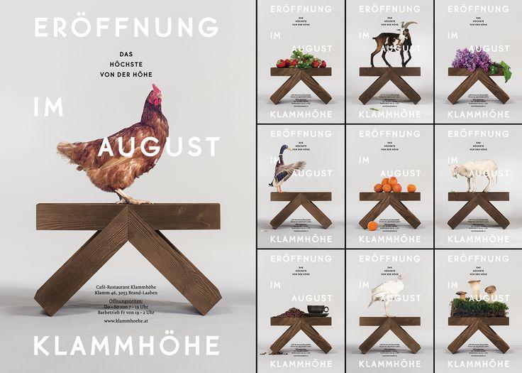 Klammhöhe Café-Restaurant on Behance