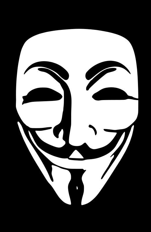 V For Vendetta Mask Stencil 117 best images about ...