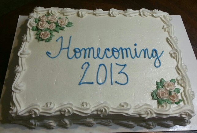 Church Homecoming Cake Church Homecoming Pinterest ...