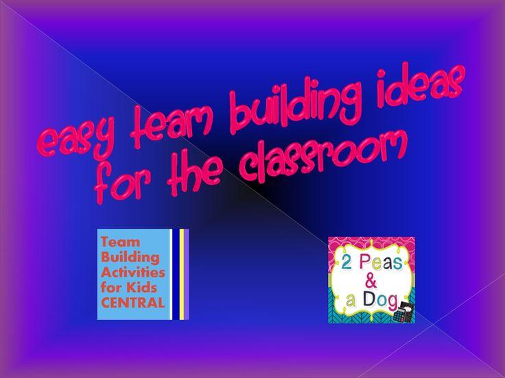quick team building activities pdf
