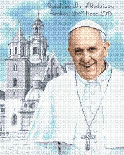 Papież Franciszek w Krakowie