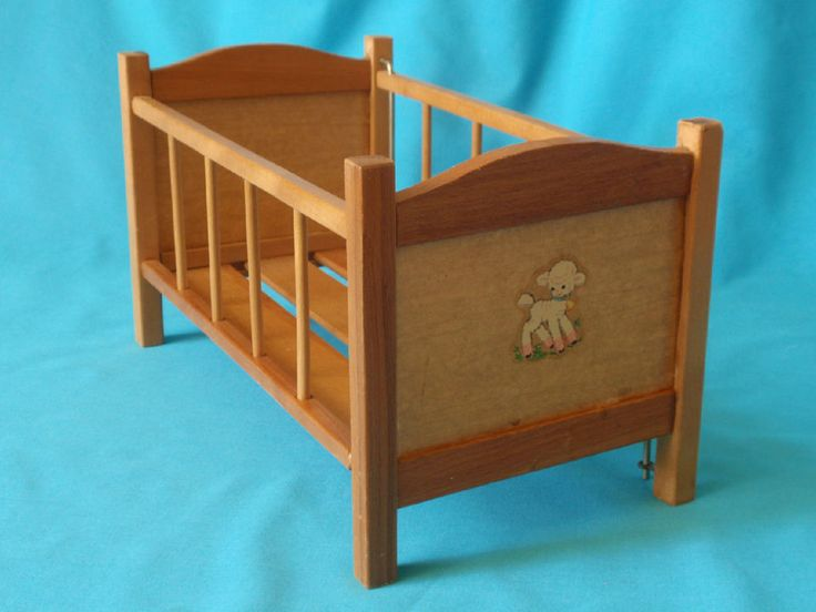 123 Best Images About 1950s Doll Cribs On Pinterest Metals Vintage And Vintage Crib