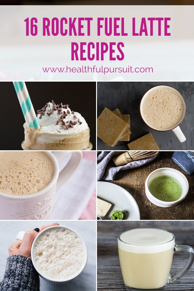 Fuel with Fat! 16 Rocket Fuel Latte Recipes to Supercharge Your DayReally nice recipes. Every hour.Show me what you cooked!