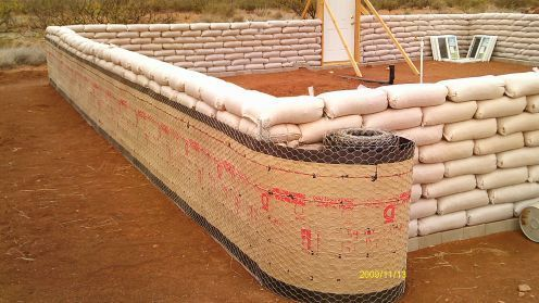 Get Busy Livin, or Get Busy Dyin': Hesco Bag Home Construction
