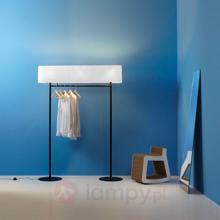 NOMAD - lampa stojąca i wieszak stojący w jednym 9036008