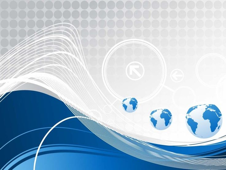 Blue wave, three globes, world map from http://www.pptbackgrounds.net/blue-wave-three-globes-world-map-backgrounds.html