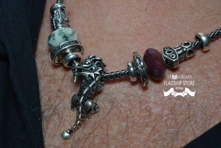 Chi di voi possiede una collana Trollbeads? Noi troviamo la creazione del nostro amico Sergio molto carina!