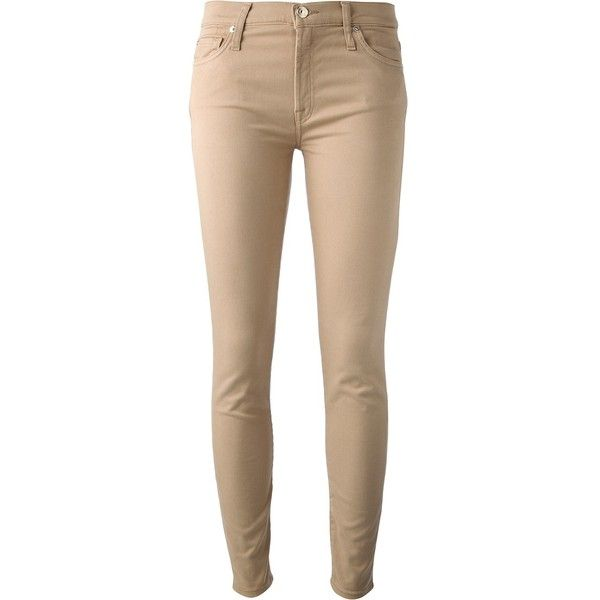 SEVEN skinny jeans ($178) found on Polyvore