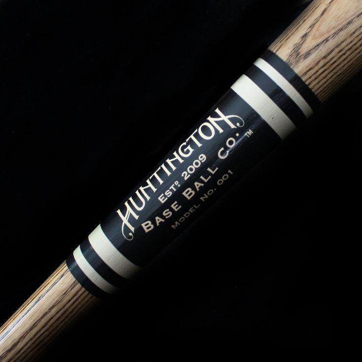 Huntington Base Ball Co. — 1880's Style Ring Bat - Model 001