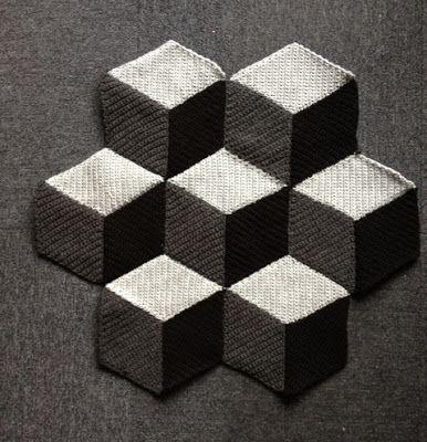 Paravent: Crochet