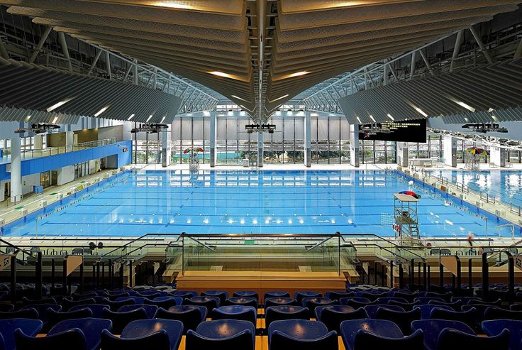 275 best spor kompleksi images on pinterest arquitetura gym and architecture Tong high school swimming pool