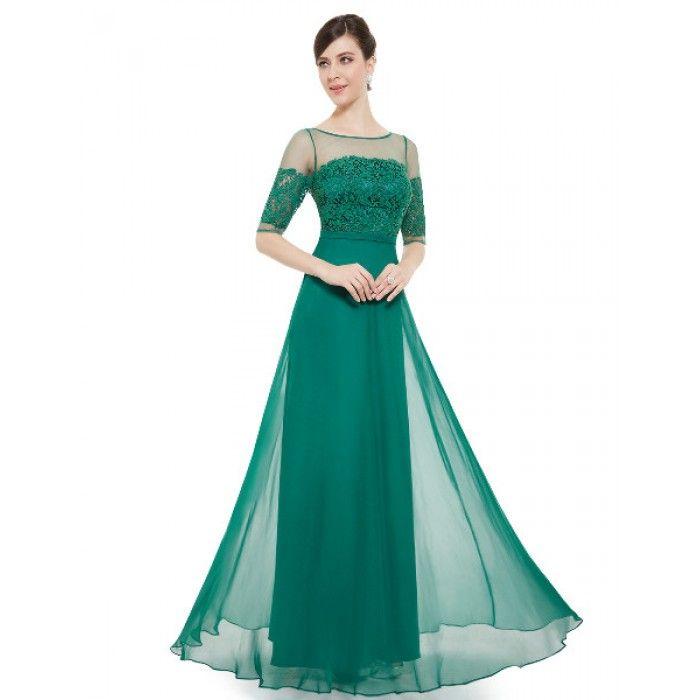 Φόρεμα με μανίκι δαντέλα