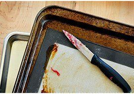My Baking Sheet Was Cleaned With Oven Cleaner. Can I Still Use It? — Good Questions