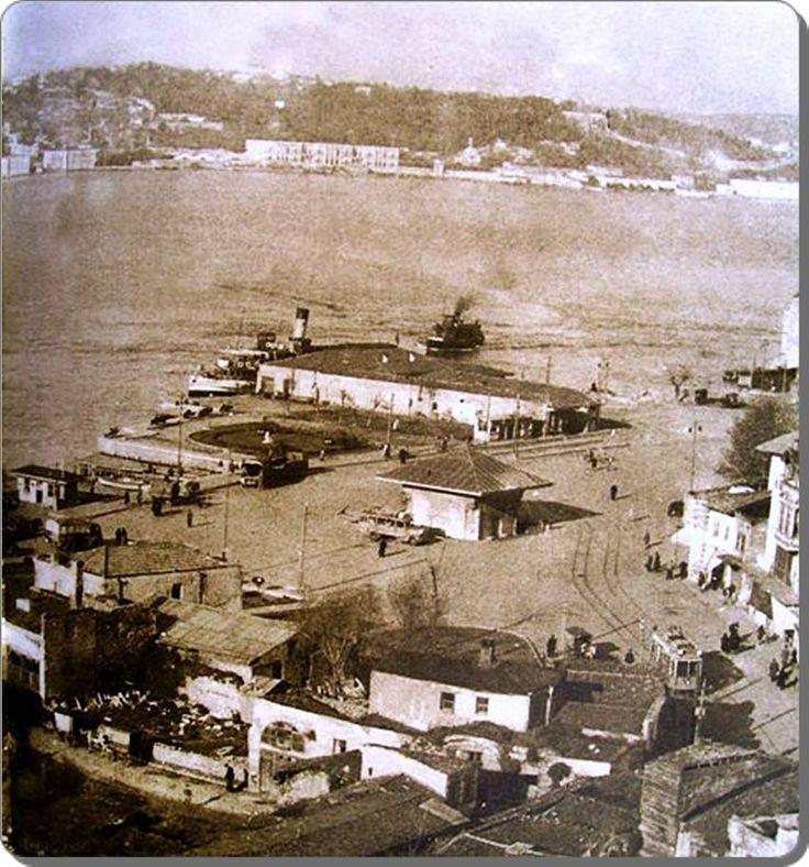 Üsküdar iskele meydanı - 1950 ler