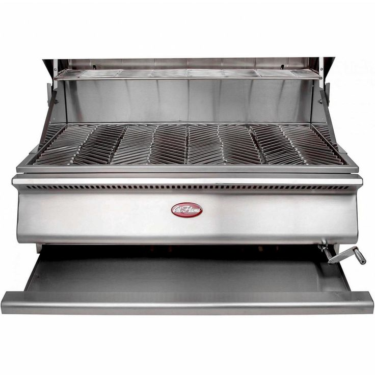 Cal Flame G-Charcoal 31-Inch Built-In Charcoal BBQ Grill - BBQ09G870 Cal Flame G-Charcoal Built-In Charcoal Grill - Drip Pan