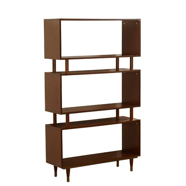 Bookcases Aren T Just For Holding Well Books Though They Make Ideal Homes For Your P Mid Century Bookshelf Mid Century Modern Bookshelf Mid Century Bookcase