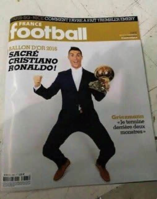 Cristiano Ronaldo v Leo Messi: Leaked France Football magazine reveals 2016 Ballon d'Or winner #cristiano #ronaldo #messi #leaked #france…