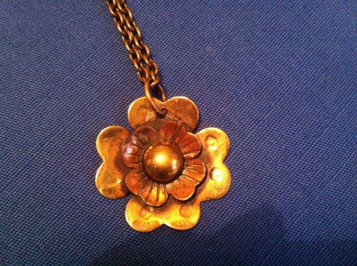 Seppo Tamminen, necklace. Actually made of brass.