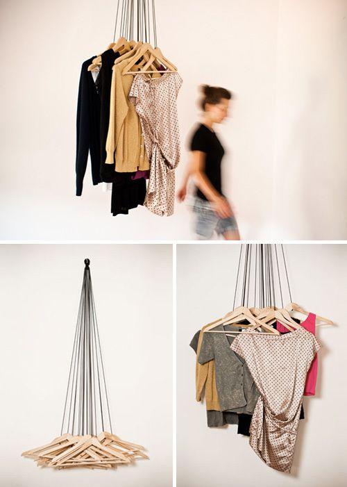 No Rack Clothes Hanger