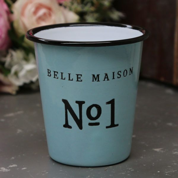 Emaille Becher No 1