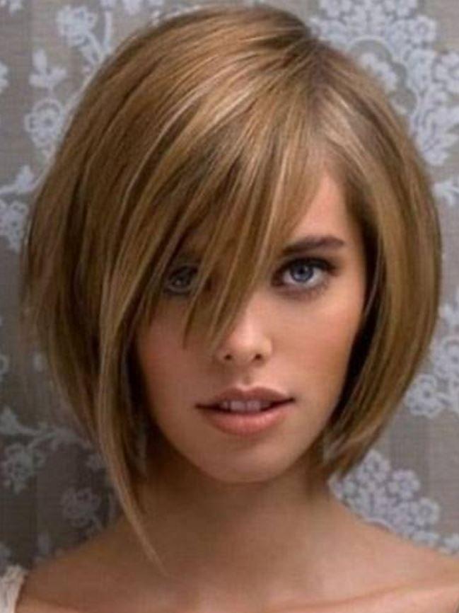 Zayıf Gösteren Asimetrik Bob Saç Modelleri