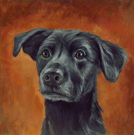 See more great pet portraits at letitiascrafts.etsy.com | #custompetportraits…