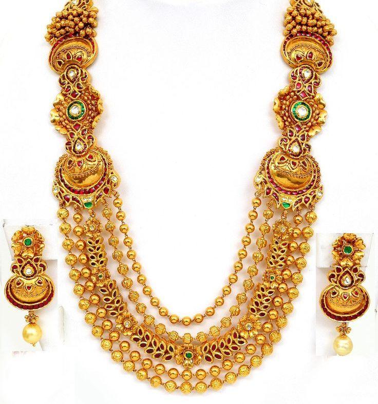 Massive Wedding Necklace Design
