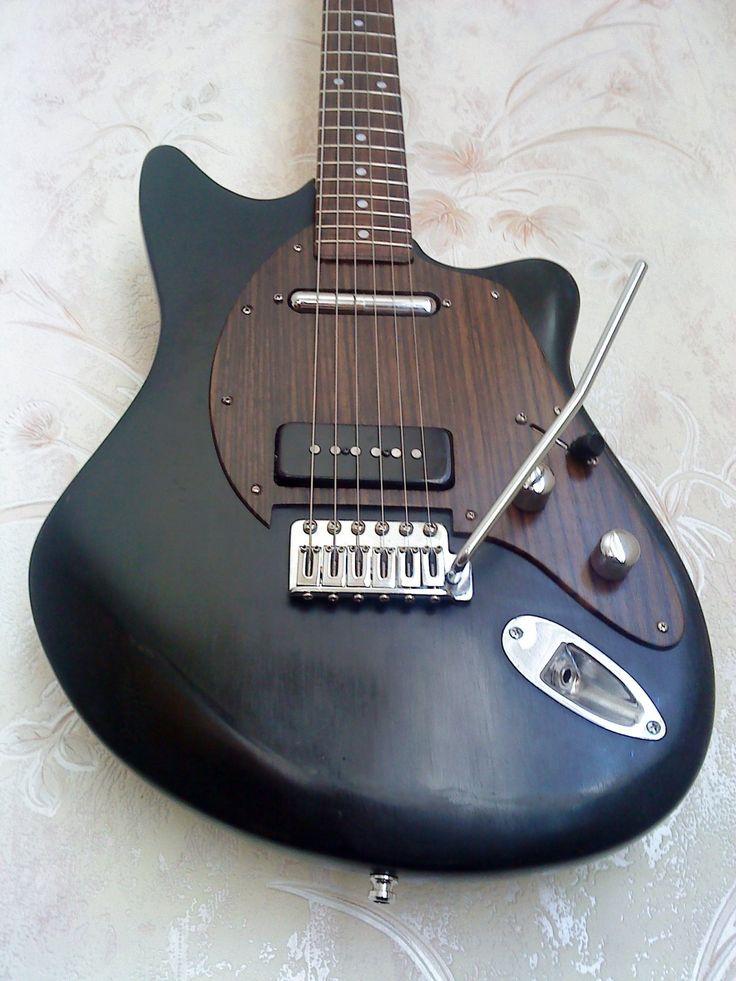Guitare électrique hybride assemblage pro