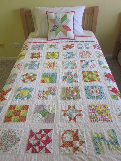 Farmer's Wife Twin Quilt by s.o.t.a.k handmade