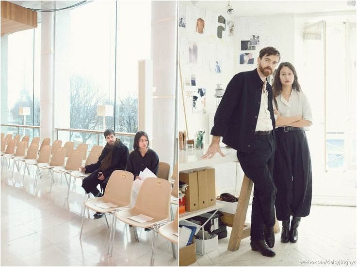 Sarah- Linh Tran and Christophe Lemaire