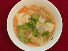 Rezept: Lisas würzige Wan Tan Suppe (Lisa Bund)