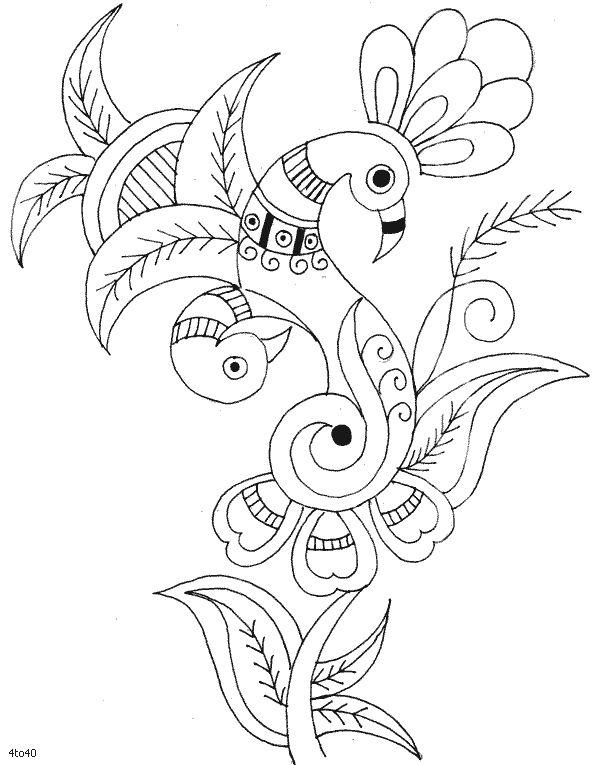 Indian Motifs Textile Pattern, Sarika Agarwal Textile Pattern 1, Indian Motifs…