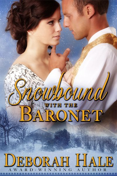 Lovely cover for Snowbound with the Baronet by the Killion Group