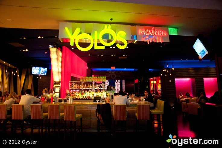 HAPPY HOUR: Yolo's at Planet Hollywood, 2-6:00 PM everyday.
