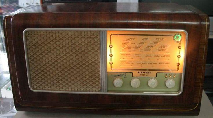 RADIO D'EPOCA A VALVOLE SIEMENS SM 735 Anno... a Campobasso - Kijiji: Annunci di eBay