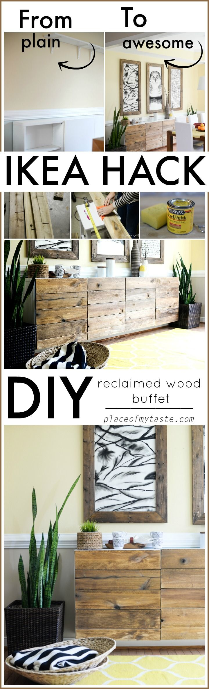 What a fabulous IKEA HACK! Come and see it yourself!