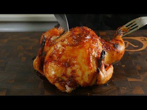 Супер-сочная кисло-сладкая курочка в духовке - YouTube