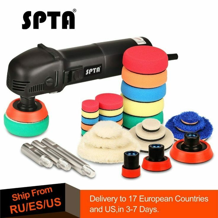 "Details about SPTA 3"" Polishing Machine Mini Car Orbital"
