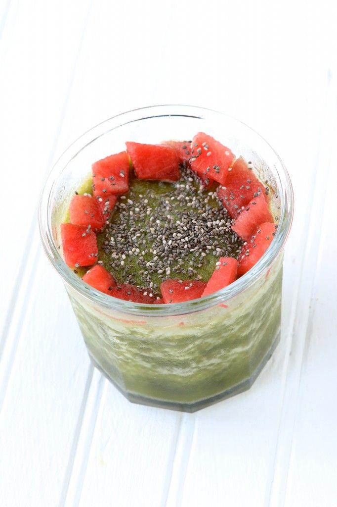 Watermelon Kale Smoothie