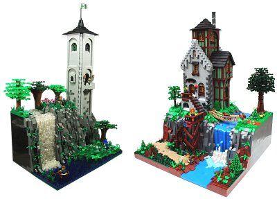 The Classic Castle Dot Com Featured Moc Archive Lego