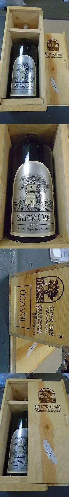 Red Wines 38182: 2000 Silver Oak Cabernet Sauvignon Alexander Valley Wine 3 Liter Double Magnum -> BUY IT NOW ONLY: $999.99 on eBay!