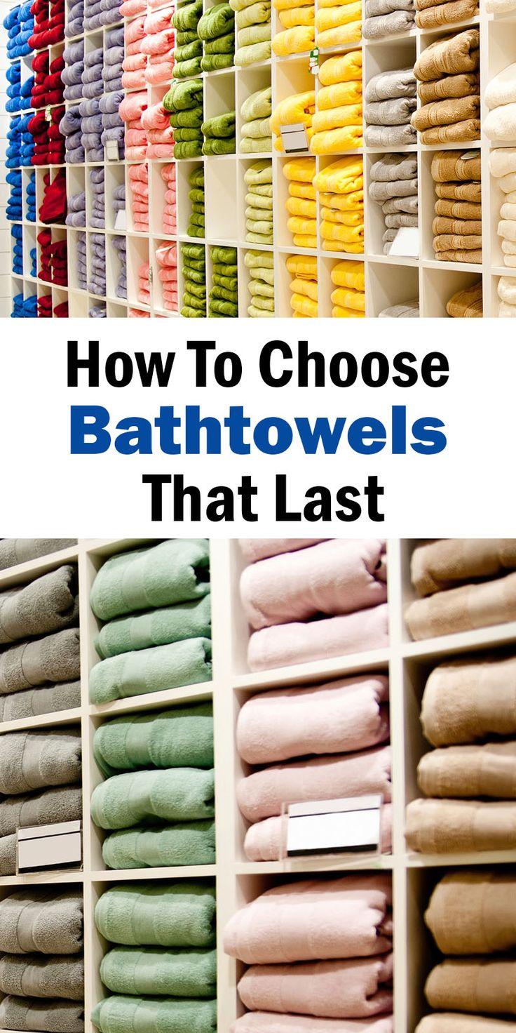 How to Choose Bath Towels That Last