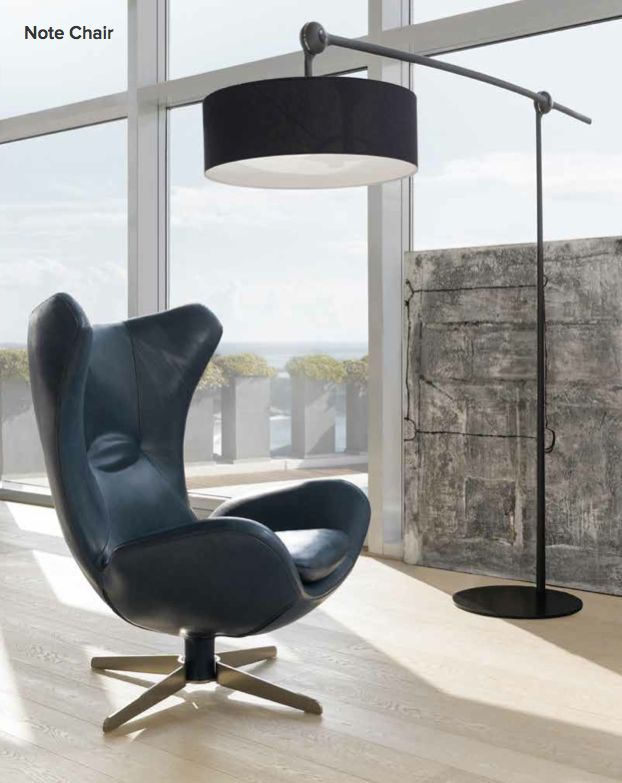 Note Chair Amp Jump Lamp Natuzzi Italia Pinterest