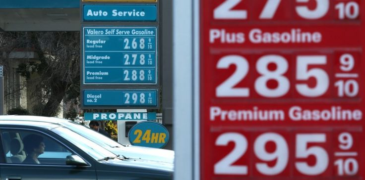 La prix du baril de pétrole devrait repartir à la hausse selon l'AIE. JUSTIN SULLIVAN / GETTY IMAGES NORTH AMERICA / AFP