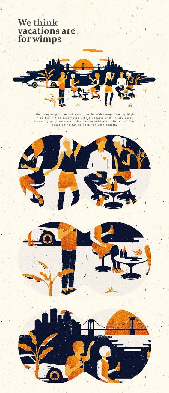 Party illustrations | Editorial illustrations by Andriy Muzichka: