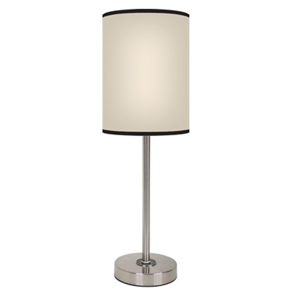 Solid Beige Lamp   FREE SHIPPING