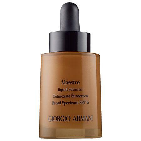Maestro Liquid Summer SPF 15 - Giorgio Armani | Sephora